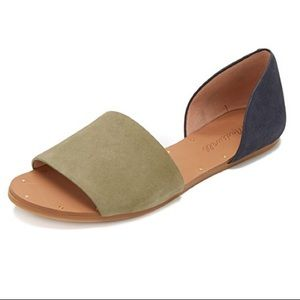 dae3cfcc798 MADEWELL Thea Color Block Sandals